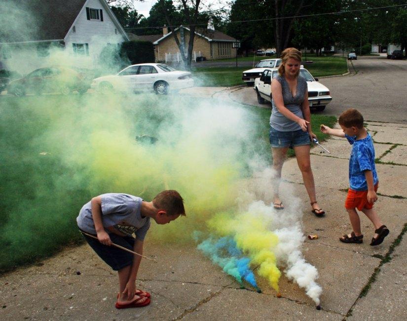 smoke-bombs